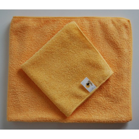 Set of two microfiber cloths 50x60 and 30x30 cm