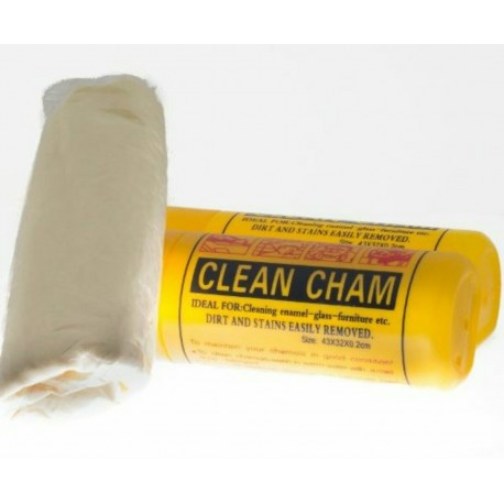 Synthetic chamois with case