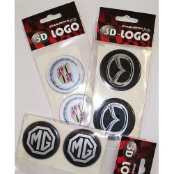 3D logá na puklice