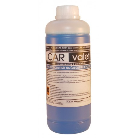 Super concentrate for the upholstery and plastic - dark blue 1 l