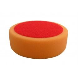 Leštiaci kotúč na suchý zips oranžový