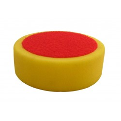 Polishing disc with velcro, yellow