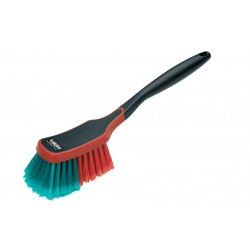 Brush for rims with rubber trim
