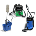 Vacuum cleaners, carts, mops Numatic